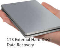 1TB External Hard Drive Data Recovery Solution