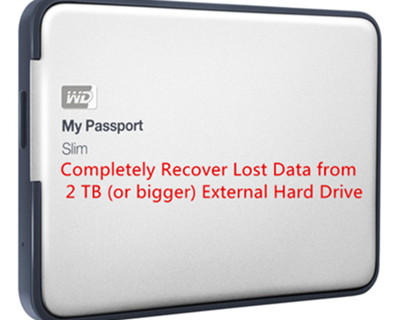 2TB external hard drive file recovery