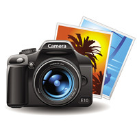 permanently wipe photos from digital camera