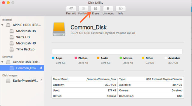 external hard drive format and recovery solution