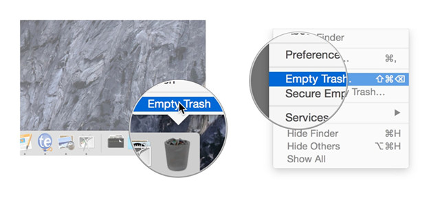 prevent data in Mac trash bin from being recovered by data recovery software