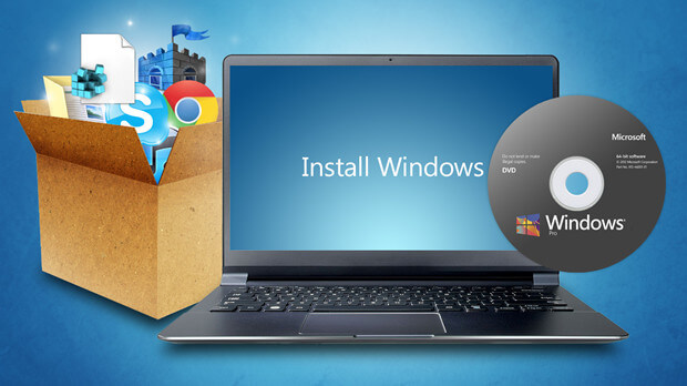 recover lost files after reinstalling Windows operating system