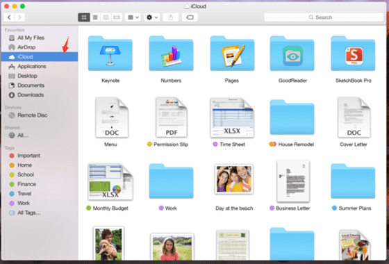 recover deleted files from iCloud drive on Mac