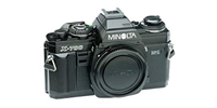 how to recover lost data from Minolta camera