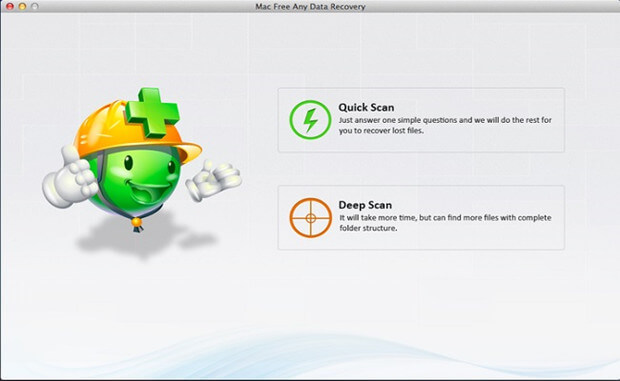 Free Any Data Recovery for Mac