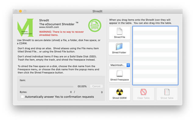 top 4 Mac file shredder