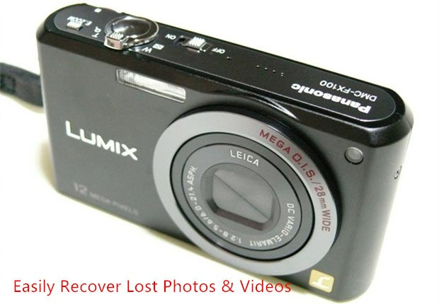 Panasonic LUMIX Digital Camera Photo Recovery Solution Free
