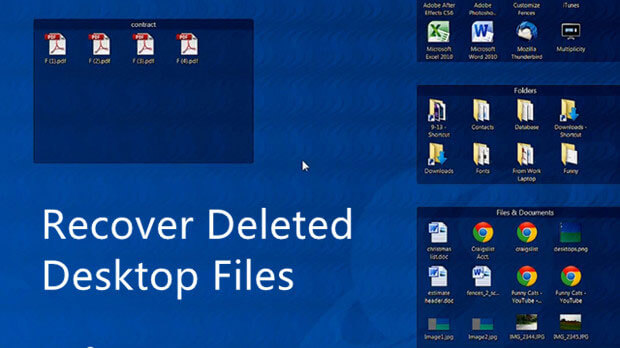 Recover Deleted Desktop Files