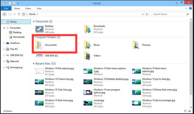 Easy Way to Recover Missing Documents Folder Files in Windows 10