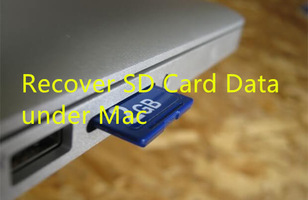 Recover SD Card Data under Mac