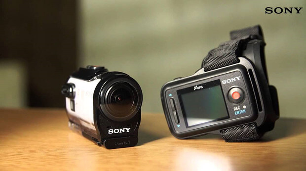 recover lost video recordings from Sony Action Camera