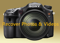 recover lost videos and photos from Sony Camera