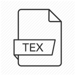 how to recover lost .tex files