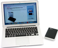 format WD portable hard drive on Mac