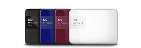 WD My Passport Ultra Data Recovery External Hard Disk