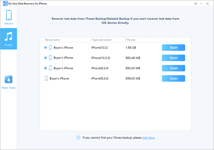 recover lost files from iPad
