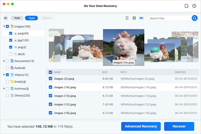 preview and recover Safari bookmarks